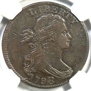 1798 S-153 R-3 Ngc Vf 35 Draped Bust Large Cent Coin 1c