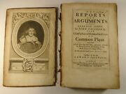 1677 John Vaughan Reports And Arguments Chief Justice Court Of Common Pleas Law