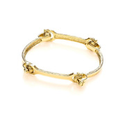 9ct Yellow Gold Hallmarked Solid 4 Piece Bone Ladies Bangle Sorry Sold Out