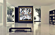 Jiang Tie Feng Girl Of Suzhou Color Serigraph Large Nude Female Art Painting