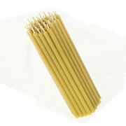 Candles 100 Beeswax L 155cm Premium Quality Altar Candles For Home And Church