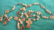 Stations Of The Cross Rosary Handm Rosaries Made Of Stone From Medjugorje 23''