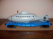 Lionel 52273 Lcca Flat Car With United States Navy Submarine