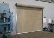 Durosteel Janus 12and039 X 10and039 2000i Series Insulated Commercial Roll-up Door Direct