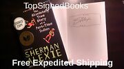 Signed The Absolutely True Diary Of A Parttime Indian By Sherman Alexie, New