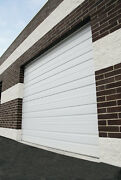 Duro Steel Amarr 2402 Series 16and039 Wide By 10and039tall Commercial Overhead Garage Door