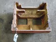 Allis-chalmers 190 Tractor Front Weight Bracket Tag 634