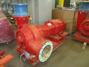 Bell And Gossett Pump W/ac Motor Vscs 12x14 Bf 16.625 4500gpm 100ft Head 460v Used