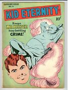Comic Magazine Kid Eternity 6 Summer 1947 In Vg/fn Condition