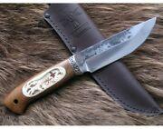 Exclusive Premium Handmade Forged Knife Duck Hunting 9hs Steel Super Hard