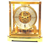 Just Fully Serviced 1940s Jaeger Lecoultreatmos Ii Mantle Clock16xxx Working