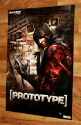 God Of War Chains Of Olympus / Prototype Rare Poster 80x56cm Ps3 Psp Xbox 360