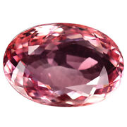 9.45 Ct. Sensational Sweet Pink Natural Tourmaline With Glc Certify