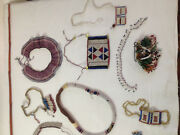 African Zulu Beads About 17 Antique Items From Around 1900