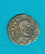 Eugenius Siliqua. Lyons. 392-395 Ad. Size- 14mm Weight 0.9grms