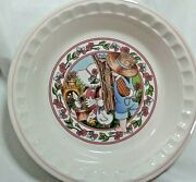 Watkins Country Kids Collectors 10 Recipe Pie Plate 1989 Springand039s Fancy