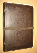Assassinand039s Creed 2 Ii Leather Bound Journal Booklet Notebook Book Press Kit Item