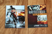 Battlefield 4 And Hardline Rare Promo Magnet Set Ps3 Ps4 Xbox 360 One