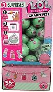 Lol Surprise Charm Fizz 40 Balls Series 2 With Display Case Brand New