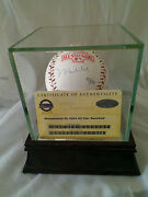 Muhammad Ali Autographed Official 2004 Mlb All Star Game Baseball With Coa