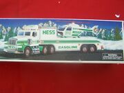 Hess1995 Toy Truck And Helicopter Nob Free Ship