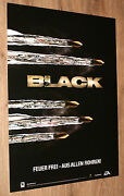 Black Video Game / The Godfather German Promo Poster 84x59.5cm Playstation 2