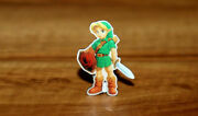 The Legend Of Zelda Link Rare Promo Pin Nintendo Licensed Product Collectible
