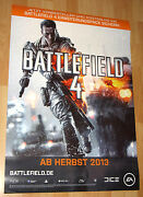 Battlefield 4 Promotional Poster 59x84cm Xbox 360 Ps3