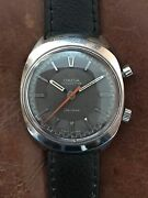 Vintage Stainless Steel Omega Chronostop Collectable 1960and039s Wrist Watch.