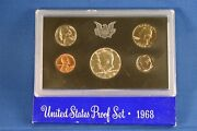 1968-s, 1969-s And 1970-s Us Mint Proof Sets Proof 40 Silver Kennedy Half