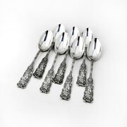 St Cloud Dessert Or Place Soup Spoons 7 Sterling Silver Gorham 1885