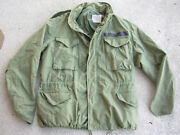 1971 Alpha Industries Cold Weather Field Coat U.s. Air Force Size Med Short