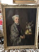 Original Oil Painting By Edward Charles Barnes