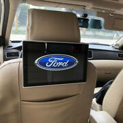 For Set Logo Ford Android 9.0 Headrest Dvd Player Car Tv Monitor Auto Lcd Screen