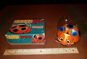 Vintage Tin Wind Up Bettle Radar Bug T.n Made In Japan In Box Tin Toy Lot