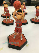 Slam Dunk Marble Mitsui Hisashi Resin Figure Q Version Painted Statue In Stock