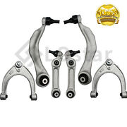 Front Upper And Lower Rearward And Forward Control Arm W/ Bushings Kit Fits Bmw F10
