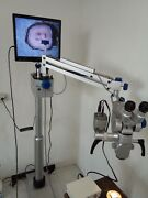 45 Deg Fixed Inclined Binocular Tubes-dental Microscope With Accessories-5 Step