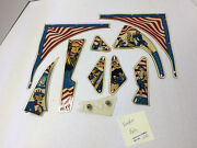 Freedom Bally Set Used Stern Pinball Playfield Plastic Part Parts 2755