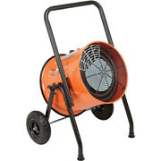 Portable Salamander Heater Electric Fan Forced - 1 Phase 240 V 15 Kw 62.5 Amps