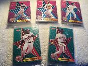 1992 Score Proctor And Gamble All-star 18-card Sets 5 Brand New And Sealed