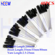 Cleaning Brush Household Bottle Tube Brushes Set Home Kitchen Clean Tool 50pcs