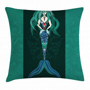 Sea Life Throw Pillow Cases Cushion Covers Home Decor 8 Sizes