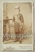 Antique Cabinet Card Photograph Knights Templar Star Commandery Pa