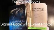 Signed The Dark Artifices Lady Midnight Cassandra Clare With Event Photos
