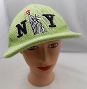 New York City Statue Of Liberty Souvenir Adjustable Baseball Hat Pre-owned St37