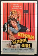 Reform School Girls Movie Poster 1957 Classic Bad Girl  Hollywood Posters