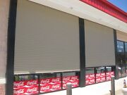 Durosteel Janus 10and039 X 14and039 1100 Series Commercial Wind Rated Roll-up Door Direct
