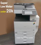 Ricoh Mp C4502 Mpc4502 Color Copier Print Scan Speed 45 Ppm Low Meter Rw