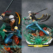 Trafalgar Law Statue Figurine Painted Model Focus On Gk One Piece In Stock New